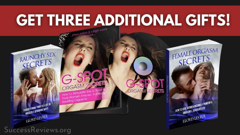 Ejaculation by Command get three additional gifts!
