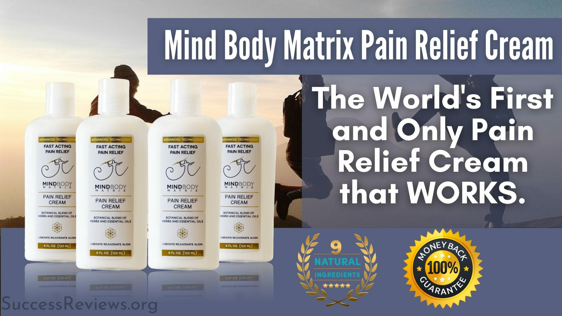 Mind Body Matrix Pain Relief Cream It works