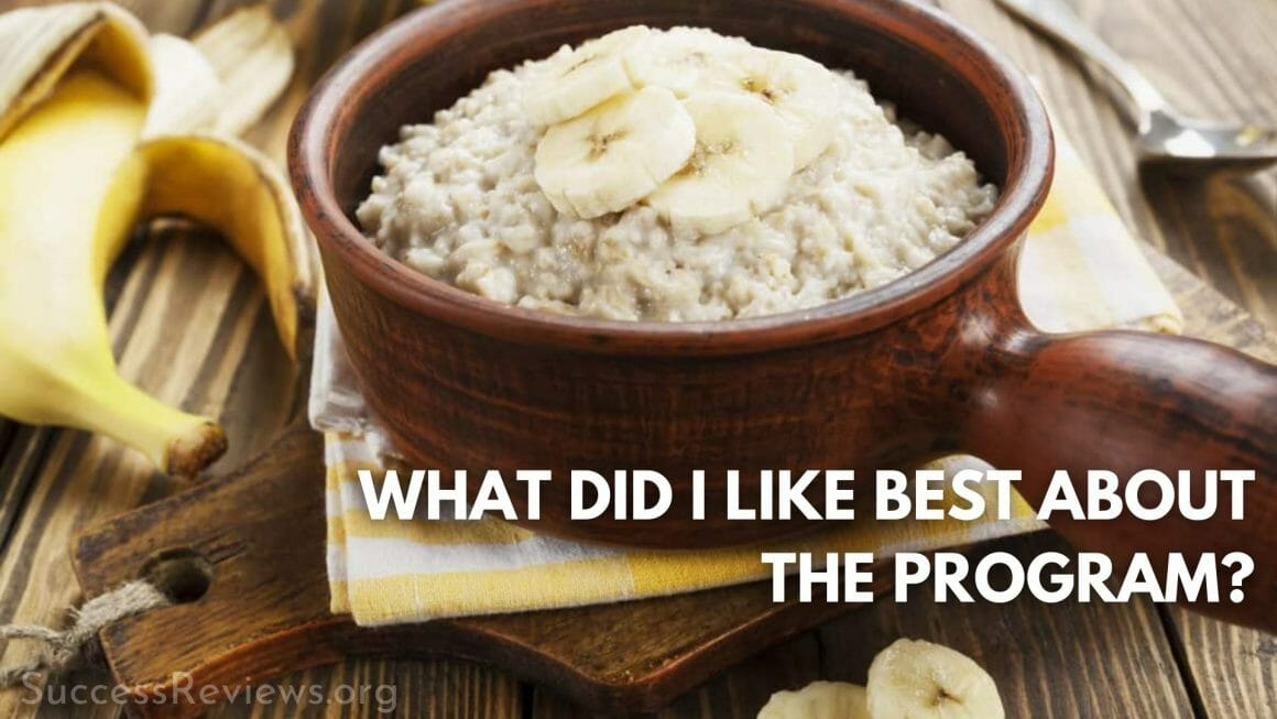 High Carb Fat Loss what did i like best about the program?