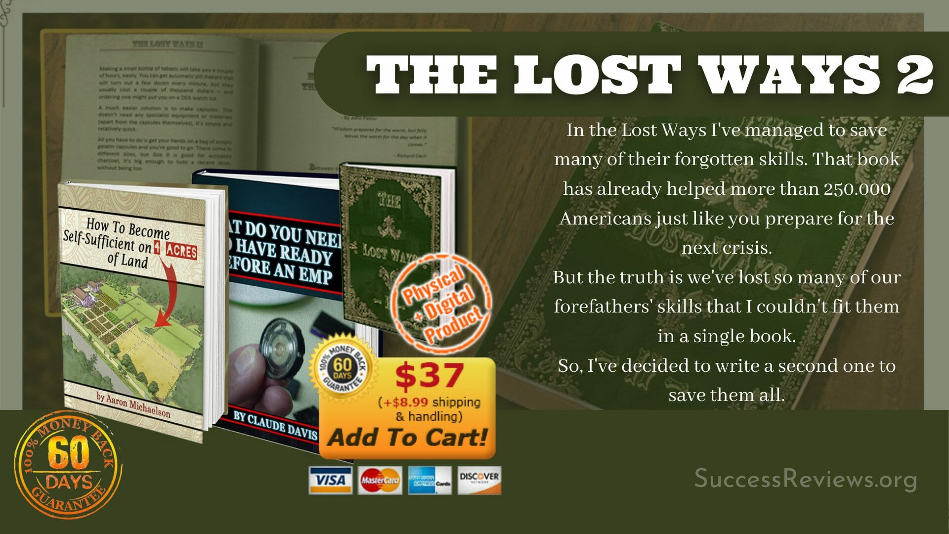 The Lost Ways 2 Physical Digital Product