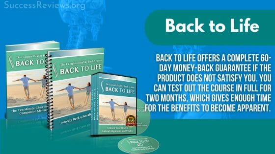 Back to Life For back pain.