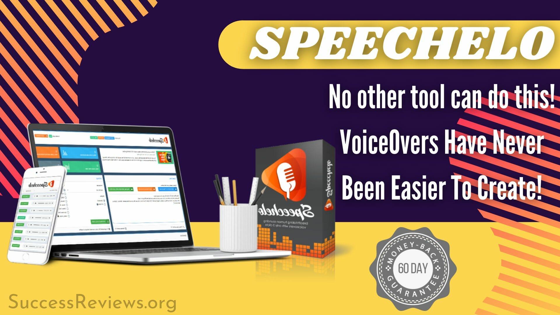 Speechelo Voiceover tool