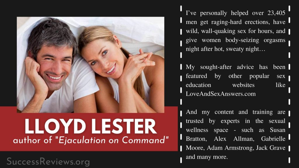 Ejaculation by Command Lloyd Lester