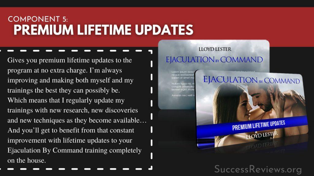Ejaculation by Command component 5: Premium Lifetime Updates