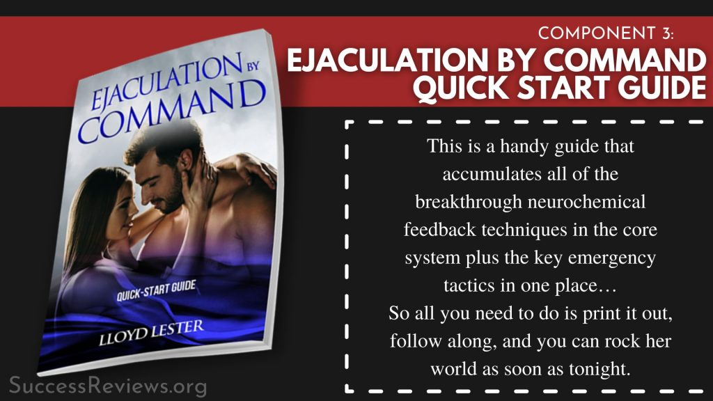 Ejaculation by Command component 4: Ejaculation by Command Quick Start Guide