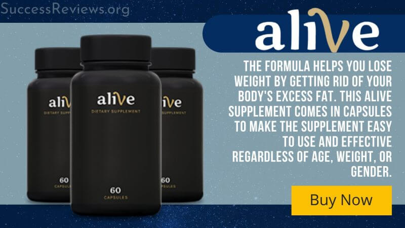 Alive supplement A Five-second morning ritual