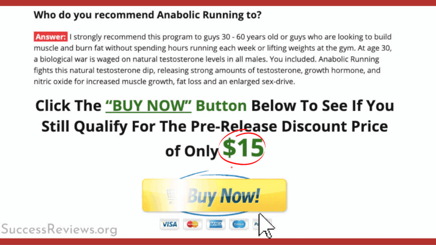 Anabolic After 40 Muscle Size bonuses