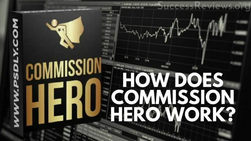 Commission Hero how does commission hero work