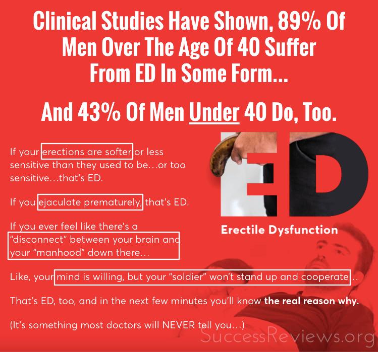 E.D. Elixir Men Suffering from ED