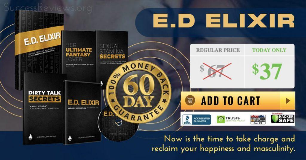 ED Elixir Bonuses and Return Policy
