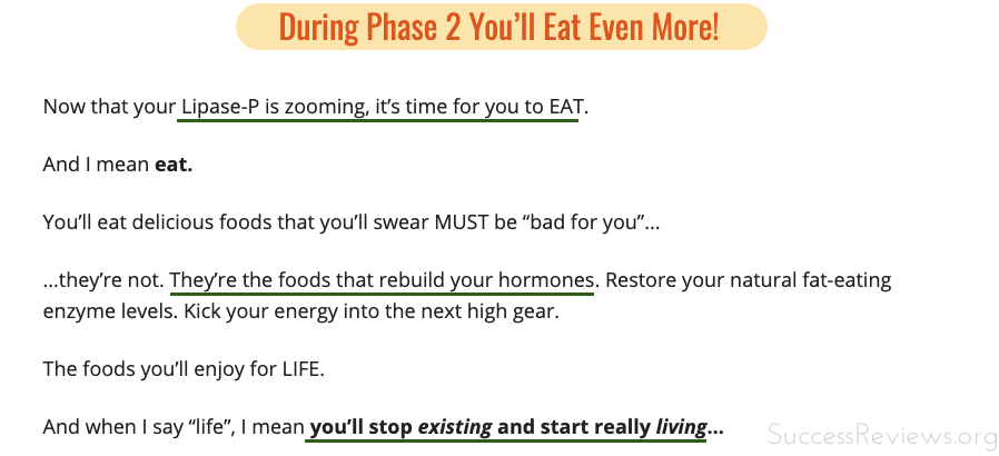Eat the Fat off Phase 2