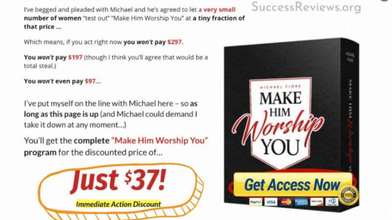 Make Him Worship You Discount