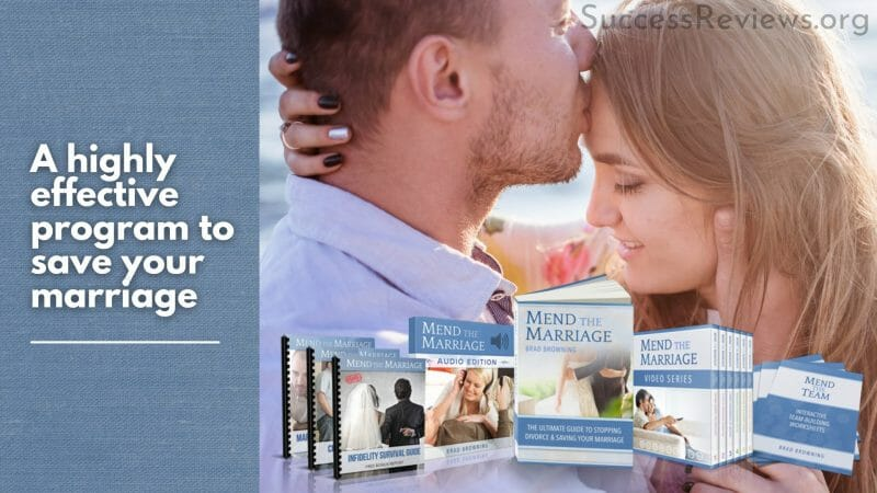 Mend the Marriage A highly effective program to save your marriage