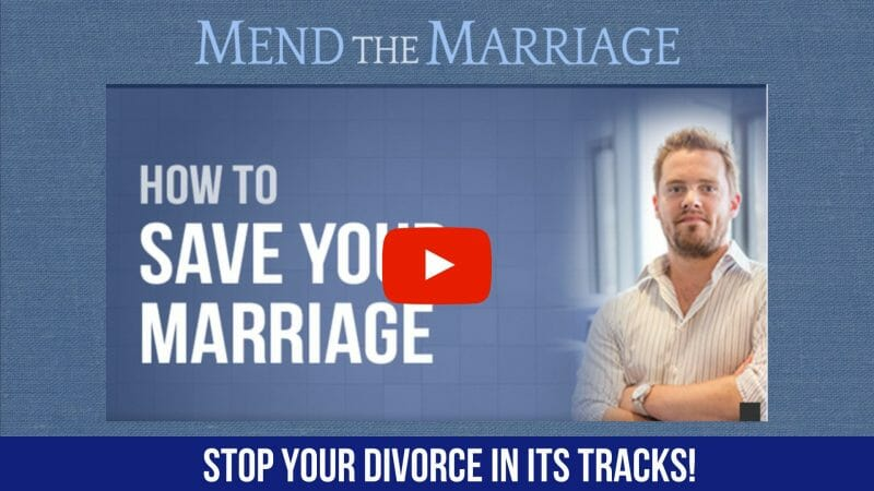 mend the marriage Stop Divorce