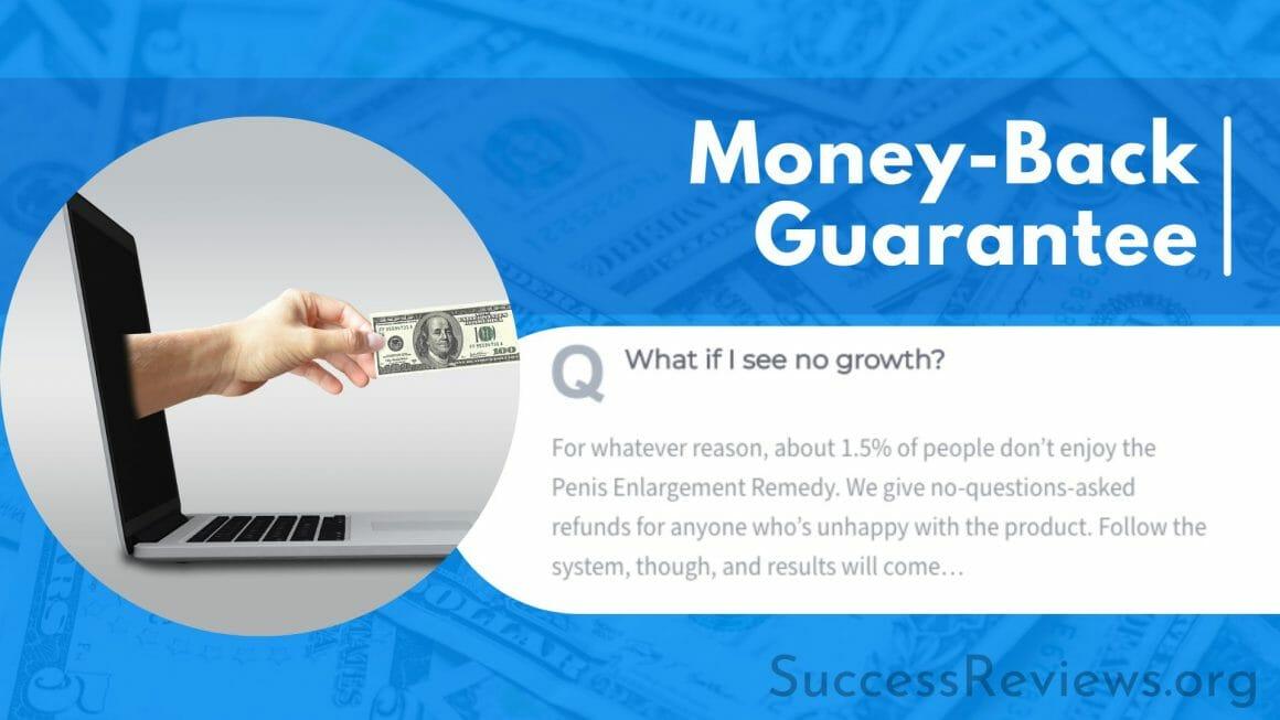 Penis Enlargement Remedy Money-Back Guarantee