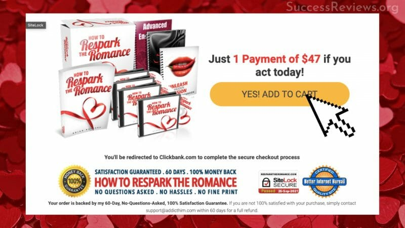Respark the Romance Add to Cart