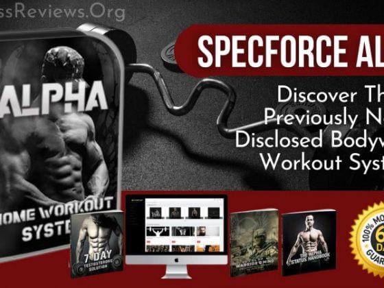 SpecForce Alpha Bodyweight workout System