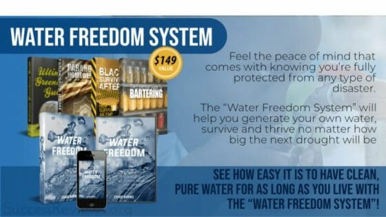 Water Freedom System Featured Image