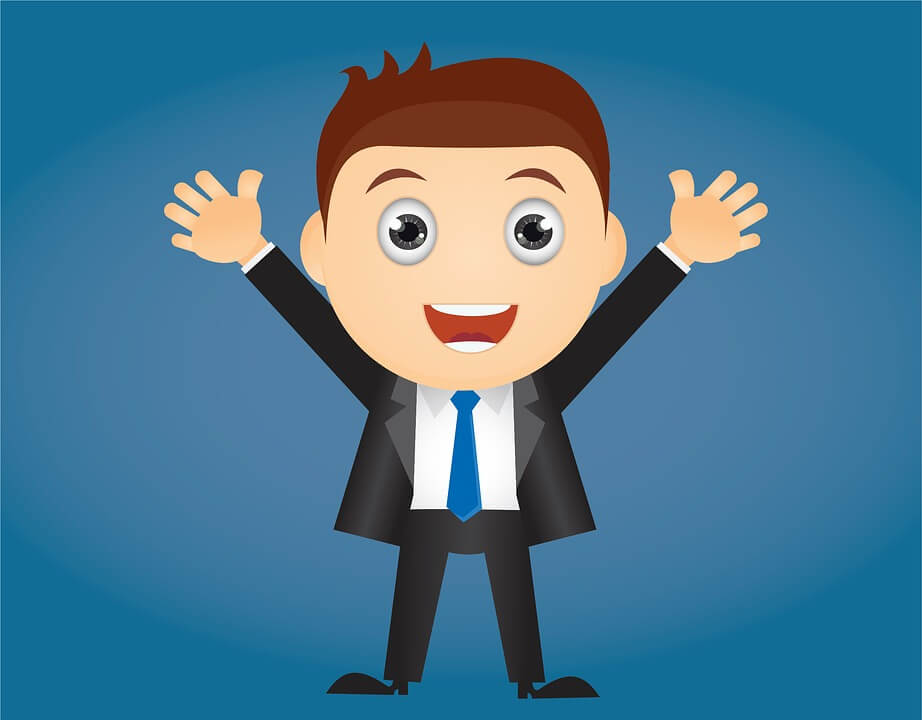 main in suit clipart