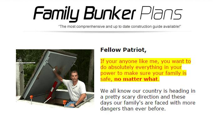familybunkerplans