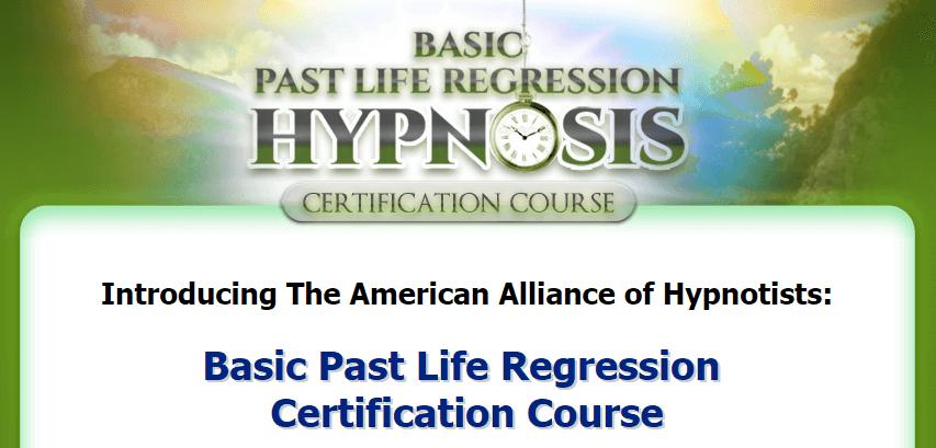 Basic Past Life Regression Certification
