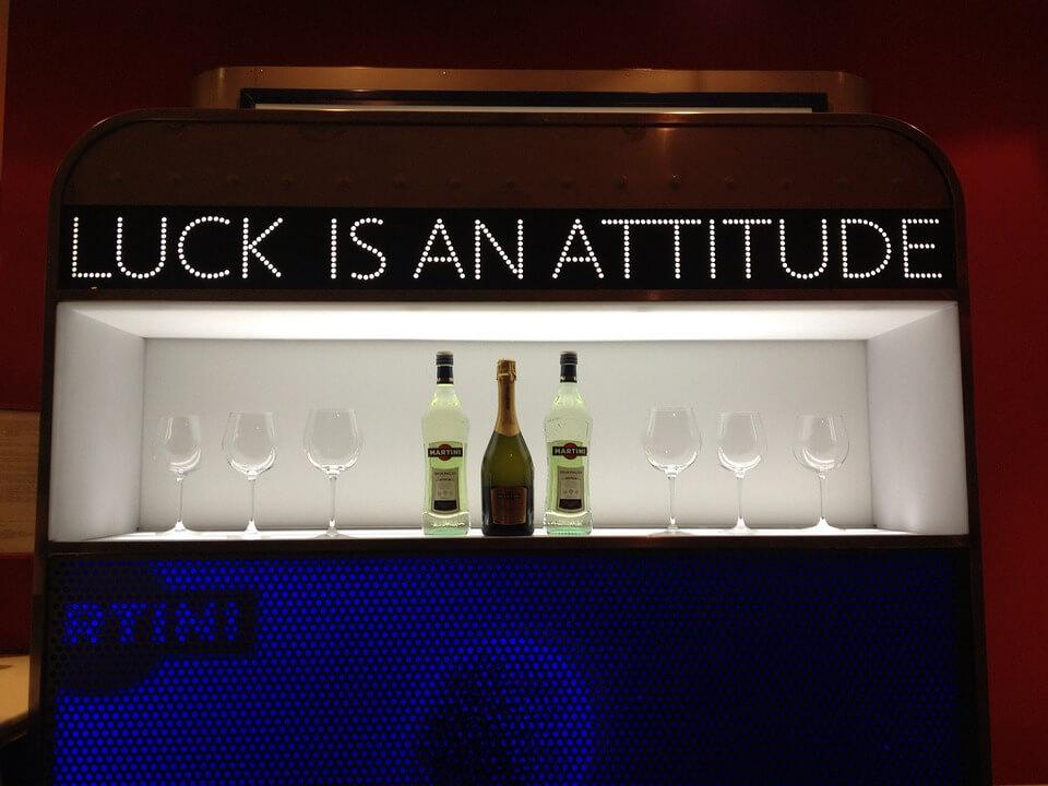 luck is an attitude