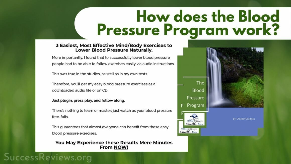 Blood Pressure Program How does the Blood Pressure Program work?