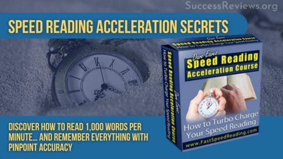 Speed Reading Acceleration Secrets Featured Image