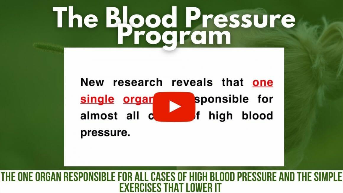 The Blood Pressure Program Secret Reveal