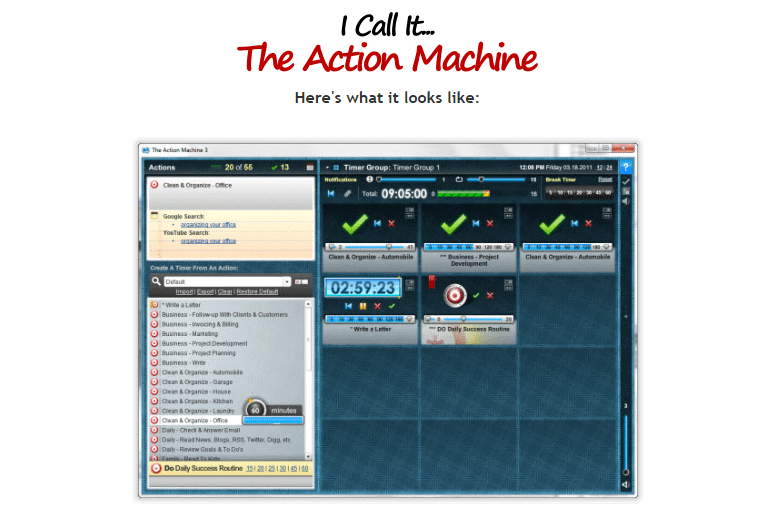 The Action Machine 2