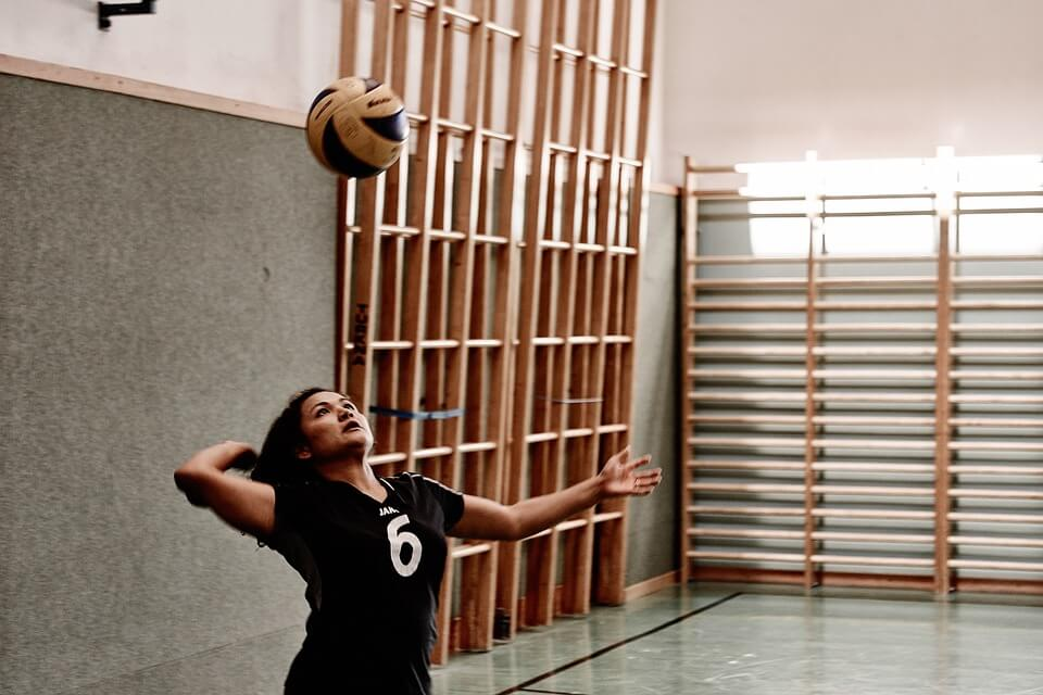 woman volleyball